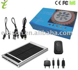 2600mAh solar charger case for ipad