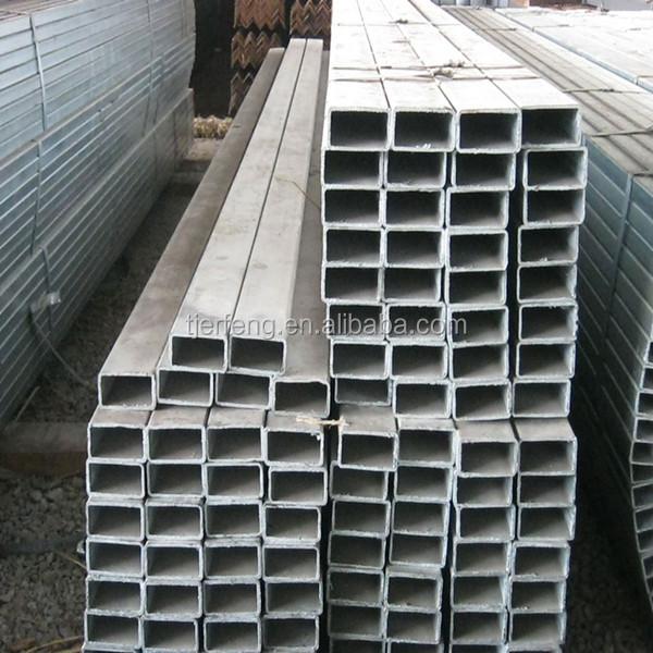 De hierro galvanizado tubo precio tubo de acero - Acero galvanizado precio ...