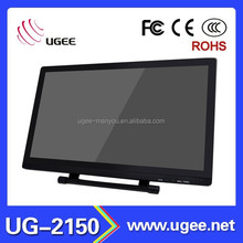 Top manufacturer Ugee 21.5 inch USB 2048 levels touch screen drawing monitor