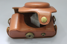 100% factory price leather camera case for Canon SX170