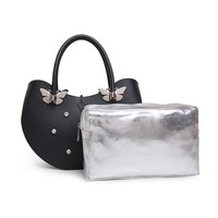 fashion and beautiful high quality butterfly mochi used gunny bags