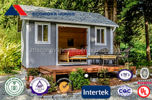 American standard modern prefab container home with cost efficient price with steel frame