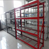 2 inch pitch step beam and wire deck racking,industrial COSTCO rack,steel structure beam and column