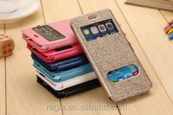 Wallet leather case for iphone 5 case,for apple iphone 5 leather case