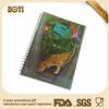 custom notebook,school notebook,hardcover notebook,3d lenticular cover notebook