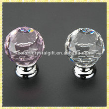 Cheap Crystal Glass Door Knobs and Handles For Cabinet Drawer Puller