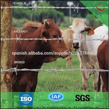 alambre de púas para la protección de los animales