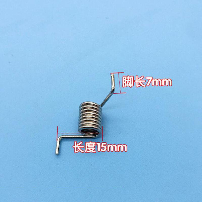Нержавеющая сталь кручения весна 2.0 D * 14.5 внешний диаметр 40 мм длинный Угол 130 крутильных весна