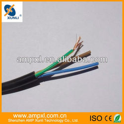 Low voltage 5 cores 1.5mm electrical wire PVC insulation