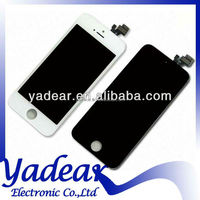 Complete lcd display for Iphone 5 orignal lcd assembly for Iphone 5 screens for Iphone 5