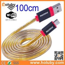 Remax 1M Long 3 in 1 Charging Cable +Data transmission+ WiFi Micro USB Cable For Samsung Android Phone