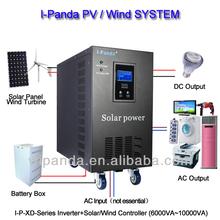 10kw 96v 192v high quality pure sine wave home solar energy gel battery inverter