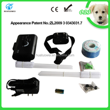 Pet Training products No Bark Control electric dog fence with Charger dog training fence