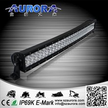 high quality 30 inch High intensity Truck Curved led light bar cover