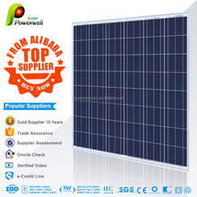 Powerwell Solar 200w Poly Module With CE/IEC/TUV/ISO/INMETRO/CEC Approval Standard Poly Solar Panel