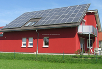 3000w solar energy system use solar panels for home