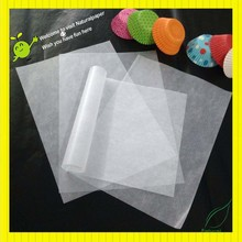 Factory outlet bleached glassine paper with bright look for butter wrapping