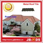 Alta qualidade melhor preço pedra revestido metal telhado telha