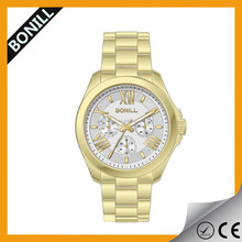 High quality all stainless steel diamond bezel brand mens watch ,fashion deign ,total weight 160g