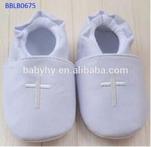 moq 36 venta al por mayor de lujo suave zapatos de bebé hecha a mano
