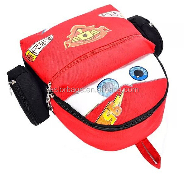 Nouveau Design de mignon sacs à dos bon marché avec forme de voiture