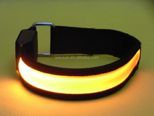 Nylon webbing Flashing Safety Led Armband