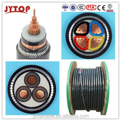 Medium Voltage 35kV COPPER CONDUCTOR XLPE INSULATED STEEL WIRE ARMORED SWA POWER CABLE