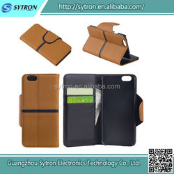 Amazing beautiful top quality cell phone leather case for iPhone 6