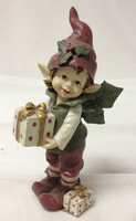 7.3 inch resin christmas hanging elf