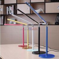 Foldable Portable 110V USB LED Energy Saving Table Desk Lamp with Glass Base
