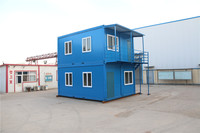 Construction manufacture easy installed portable container cabins for good choice