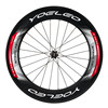 YOELEO Carbon Fiber Bicycle Wheels with 88mm Depth, Sapim CX Ray Spokes, Ceramic Bearing Hubs Carbon Bicycle Wheels