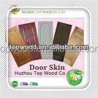Good quality molded teak HDF door skin TWDS-123