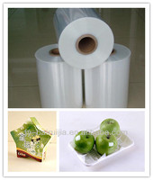 POF cling film for fresh food wrapping 12/15/19/25micron