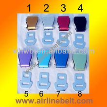 Airplane safety belt buckles,seatbelt fashion belt buckles