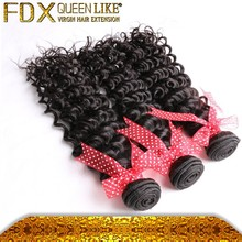 Deep curly remy virgin indian hair,sweety indian hair 100% human hair free tangle