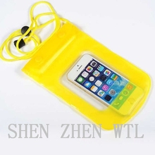 Yellow envelop wallet mobile phone bags for iphone 6