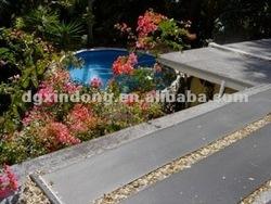 Polymer Plastic Solar Pool Panels