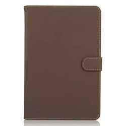 2015 New Classic leather flip case for Apple Ipad mini 4 wallet case cover