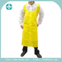 Adult Waterproof plastic apron for painting