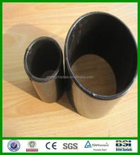 prime powder coated black mild steel welded pipe supplier