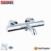Sanipro thermostatic water bath shower faucet with UPC certificate