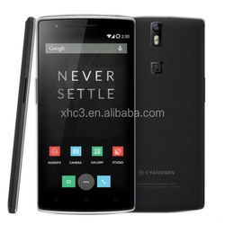 Hot selling original OnePlus One 5.5 inch mobile phone cheap Android 4.4 OTG NFC Dual-band Wi-F Smart Phone