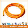 3 Layer Household Plastic PVC Orange Color Pipe, PVC Gas Flexible Braided Hose For Gas Stove