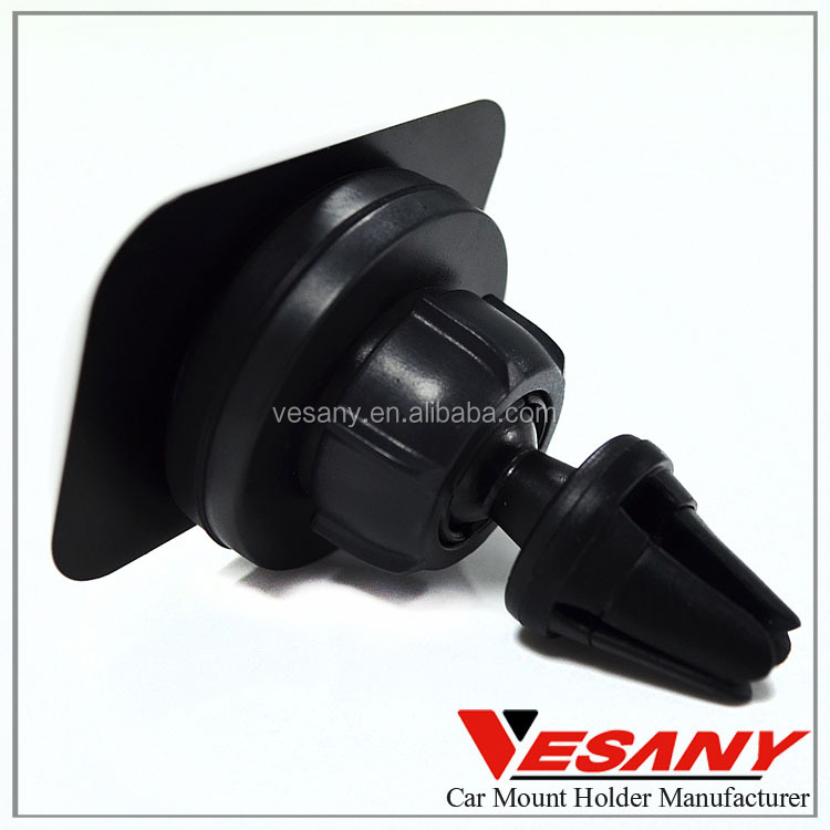 Vesany best quality 360 degree rotation mini magnetic air vent car mount holder for smartphone