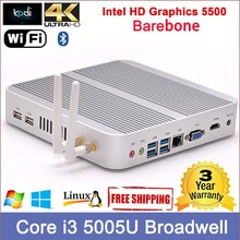 virtual desktop Core i3 5005U 5th Gen intel processor Virtualization tech 4K resolution, virtual computer 300M WIFI 12V