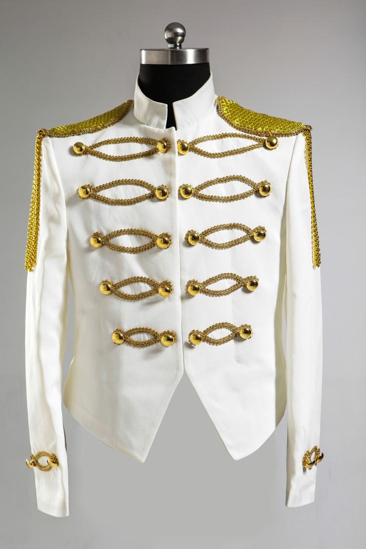 Wholesale-European Gold Embroidery Prince White Men Dress Mens ...
