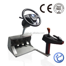 video games and educational training equipment simulator for driving school