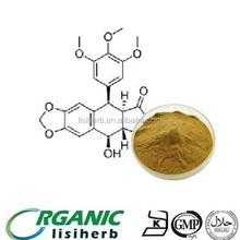 Lisi Podophyllin / Podophylline de alimentação de alta qualidade 40% 50% para a medicina