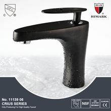 Modern single level basin mixer with ACS certification
